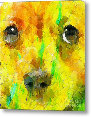 Noise And Eyes In The Colors Metal Print by Stefano Senise