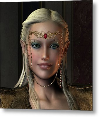 Noldor Metal Print by David Griffith