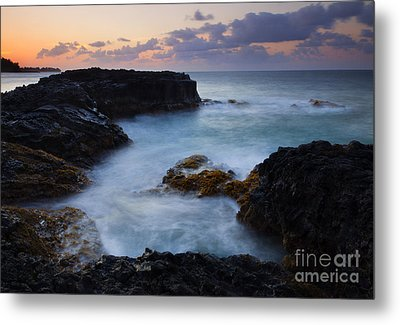 North Shore Tides Metal Print by Mike  Dawson
