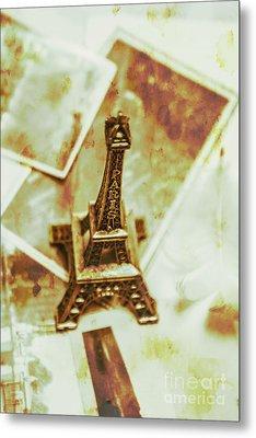 Nostalgic Mementos Of A Paris Trip Metal Print by Jorgo Photography - Wall Art Gallery