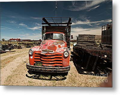 Not In Use Any Longer Metal Print by Christian Hallweger