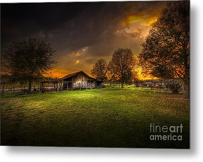 Not The Last Storm Metal Print by Marvin Spates