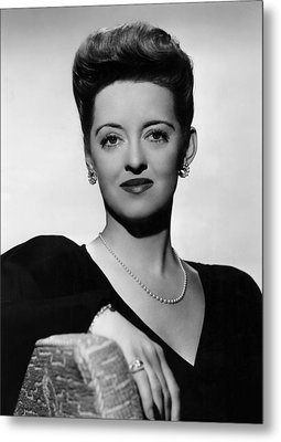 Now, Voyager, Bette Davis, 1942 Metal Print by Everett