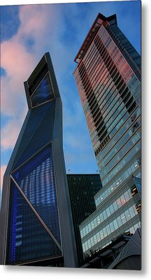 Nowhere To Go But Up Metal Print by Barbara  White