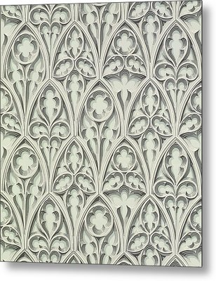 Nowton Court Metal Print by Augustus Welby Pugin