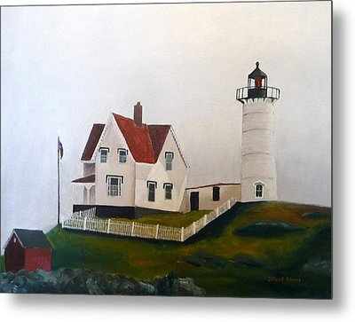 Nubble Light Iv Metal Print by Dillard Adams