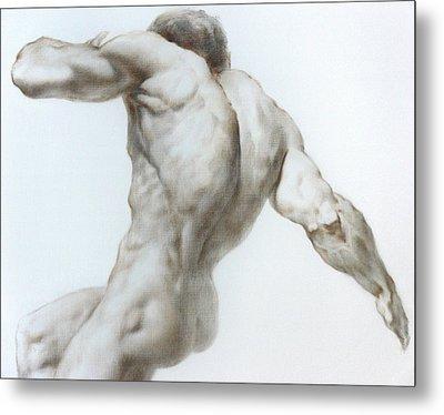 Nude 1a Metal Print by Valeriy Mavlo