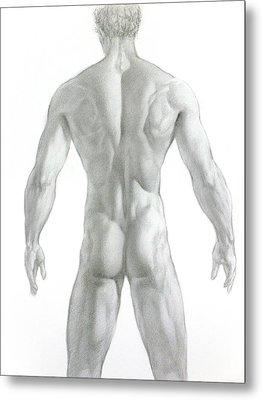 Nude 7 Metal Print by Valeriy Mavlo