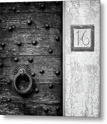 Number 16 Metal Print by Dave Bowman