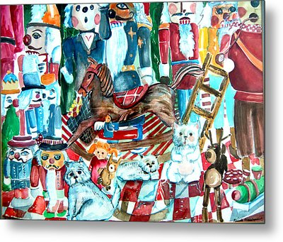 Nutcracker Suite Metal Print by Mindy Newman