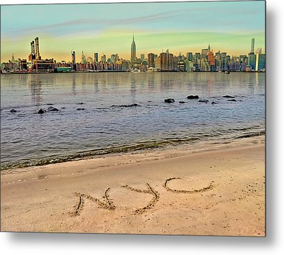 NYC Metal Print by Nina Bradica