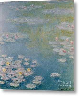 Nympheas At Giverny Metal Print by Claude Monet