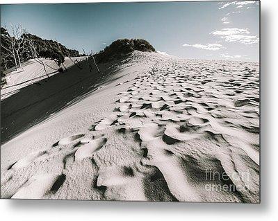 Ocean Beach Desert In Tasmania Metal Print by Jorgo Photography - Wall Art Gallery