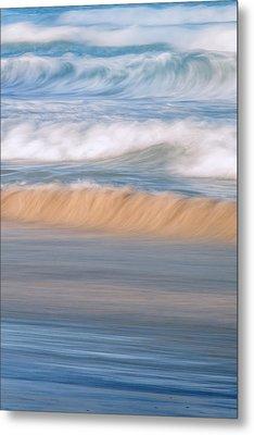 Ocean Caress Metal Print by Az Jackson