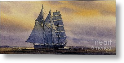 Ocean Dawn Metal Print by James Williamson