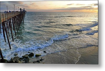 Oceanside Metal Print by Skip Hunt