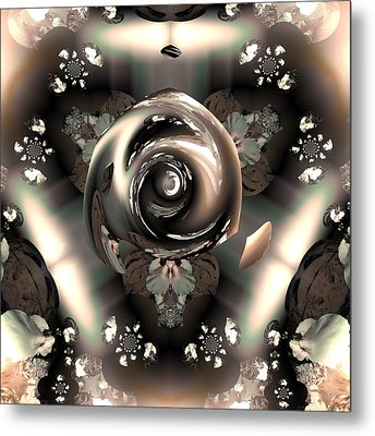 Ocf 391 The Fragrance Of Thought Metal Print by Claude McCoy