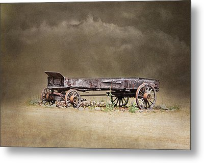 Of Another Time Metal Print by Angie Vogel