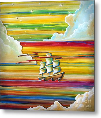 Off To Neverland Metal Print by Cindy Thornton