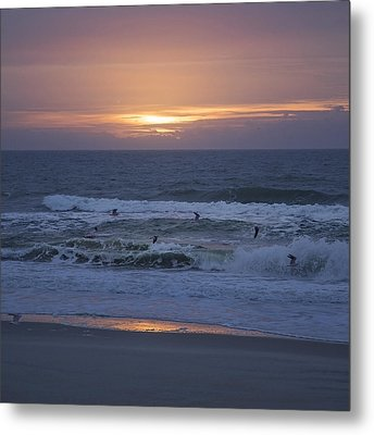 Office View Metal Print by Betsy Knapp
