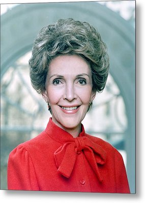 Official Portrait Of First Lady Nancy Metal Print by Everett