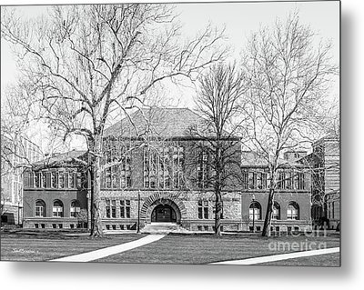 Ohio State University Hayes Hall Metal Print by University Icons