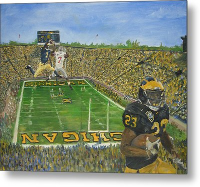 Ohio State Vs. Michigan 100th Game Metal Print by Travis Day