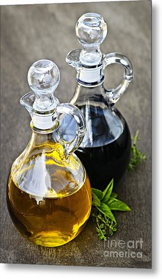 Oil And Vinegar Metal Print by Elena Elisseeva