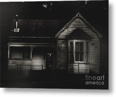 Old Abandoned Haunted House Of Horrors Metal Print by Jorgo Photography - Wall Art Gallery