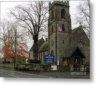 Old Church  Metal Print by Joyce Woodhouse