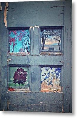 Old Doorways Metal Print by Tara Turner