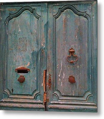 Old Entrance In Limoux Metal Print by Dagmar Batyahav