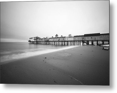 Old Orchard Beach Pier Metal Print by Eric Gendron