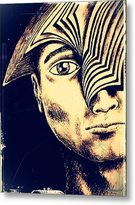 Old Precepts Metal Print by Paulo Zerbato