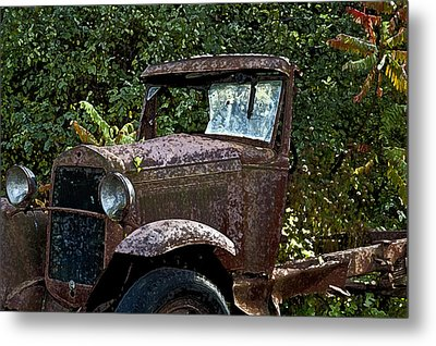 Old Rusty Metal Print by Ross Powell