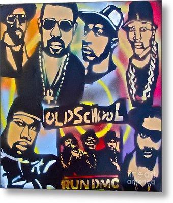 Old School Hip Hop 3 Metal Print by Tony B Conscious
