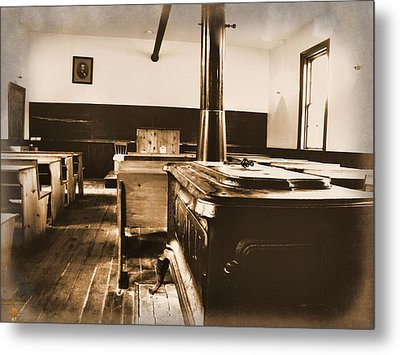 Old School Interior Metal Print by Scott Hovind