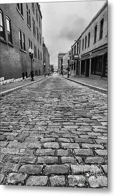 Old St. Louis Street Metal Print by Scott Nelson