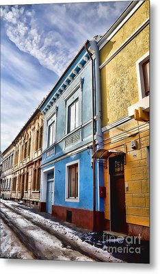 Old Streets Metal Print by Gabriela Insuratelu