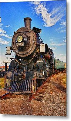 Old Train Metal Print by Garry Gay