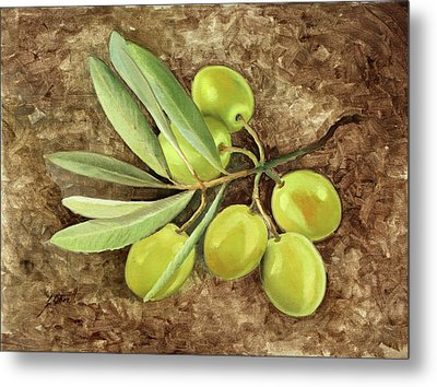 Olive Metal Print by Guido Borelli