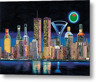 Olive Ny Metal Print by Tim Williams