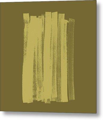 Olive On Olive 1 Metal Print by Julie Niemela