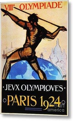 Olympic Games, 1924 Metal Print by Granger