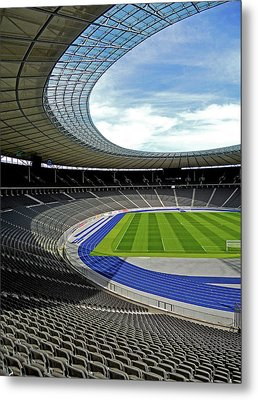 Olympic Stadium - Berlin Metal Print by Juergen Weiss