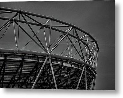 Olympic Stadium Metal Print by Martin Newman