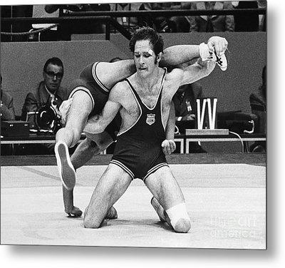 Olympics: Wrestling, 1972 Metal Print by Granger
