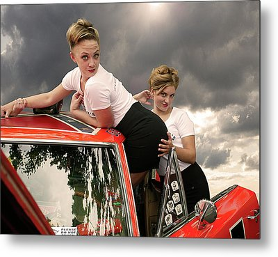 Omg - She Really Didn't Do That Metal Print by Jeff Burgess