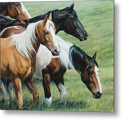 On The Move  Metal Print by JQ Licensing