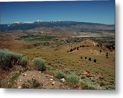 On The Road To Virginia City Nevada 9 Metal Print by LeeAnn McLaneGoetz McLaneGoetzStudioLLCcom